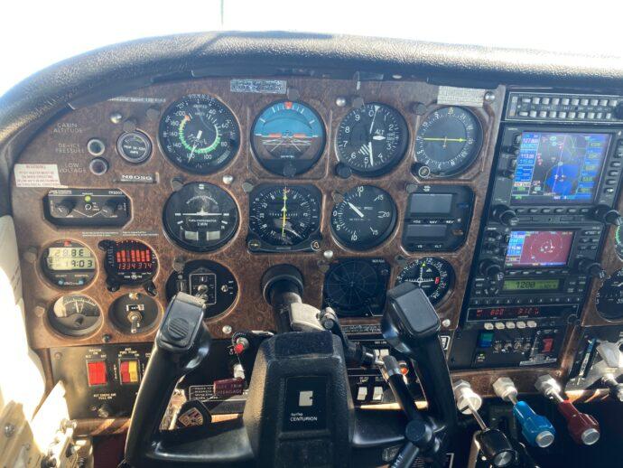 1980 Cessna T210 Garmin Panel